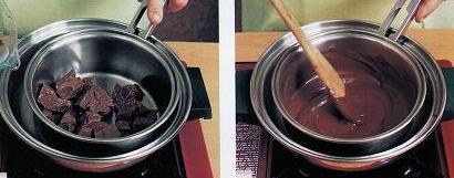 Deshacer Chocolate Al Baño Maria   Fondante De Chocolate